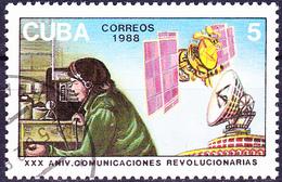 Kuba Cuba - 30 Jahre Revolutionssender (Mi.Nr.: 3163) 1988 - Gest Used Obl - Cuba
