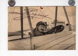 CPA AVIATION PÉGOUD LE ROI DE L'AIR SUR SON APPAREIL LEFÈVRE ORSAY COLLECTION HICKEL ACCIDENT ARNAL - 1914-1918: 1ère Guerre