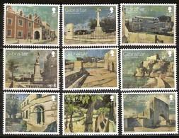 Gibraltar 2017 Micheln°  1806-1814 *** MNH  Batîments Fortresses - Gibraltar