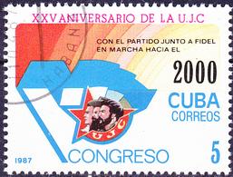 Kuba Cuba - 25 Jahre Vereinigung Junger Kommunisten (Mi.Nr.: 3083) 1987 - Gest Used Obl - Cuba