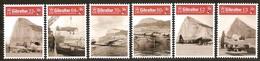 Gibraltar 2018 Micheln°  1858-1863 *** MNH  RAF Avions Airplanes Vliegtuigen - Gibraltar