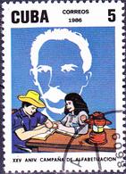 Kuba Cuba - 25 Jahre Alphabetisierungskampagne (Mi.Nr.: 3072) 1987 - Gest Used Obl - Cuba