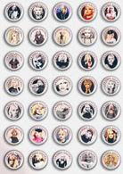 35 X Debbie Harry Music Fan ART BADGE BUTTON PIN SET 2 (1inch/25mm Diameter) - Music