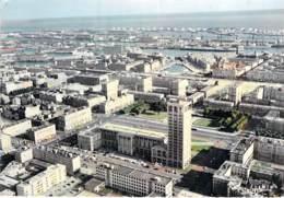 76 - LE HAVRE : Vue Générale Aérienne - Hotel De Ville - CPSM Dentelée Couleur 1967 - Vendée - Andere