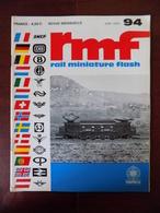 "Revue RMF "" Rail Miniature Flash "" N° 94 // 141-TA HO - Cooprérative Agricole Au 1/87è - .. - Trains"
