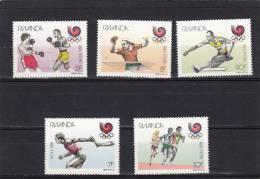 Ruanda Nº 1263 Al 1267 - Rwanda
