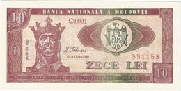 Moldavia - Moldova 10 Leu 1992 Pick 7 UNC - Moldova
