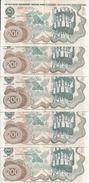 YOUGOSLAVIE 200 DINARA 1990 VF P 102 ( 5 Billets ) - Yugoslavia