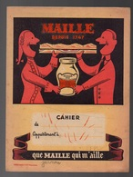 Protège-cahiers Maille Depuis 1747 - Emploi Du Temps Et Notions De Système Métrique - Protège-cahiers