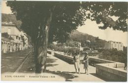 Grasse; Avenue Thiers - Non Voyagé. (Rostan Et Munier - Nice) - Grasse
