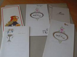 5 Menus 1977 1986 Mariage 1977 1975 Mariage ++ - Menus
