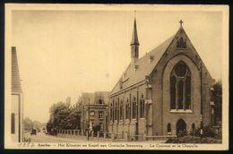 X01 - Assche - Het Klooster En Kapel Aan Gentsche Steenweg - Le Couvent Et La Chapelle - Asse