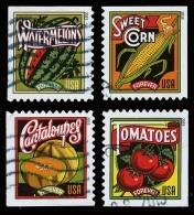 Etats-Unis / United States (Scott No.5004-07 - Recoltes D'été / Summer Harvest) (o) P2 - Used Stamps