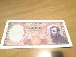 Un Billet De 10000 Lire Italie 1962 - 10000 Lire