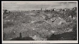 1946  --  POLOGNE  CE QUI RESTE DU QUARTIER JUIF DE VARSOVIE  3Q300 - Old Paper