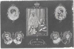 ROUMANIE Famille Royale Carte Multivues 1866-1906 - Roumanie