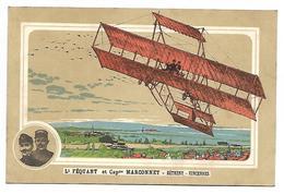 AVIATEUR - Lt FEQUANT Et Capne MARCONNET - Bétheny-Vincennes - Airmen, Fliers