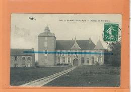 CPA - ST SAINT MARTIN DU PUY  - Chateau De Vésigneux - Other Municipalities