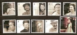 Gibraltar 2016 Micheln° 1717-1726 *** MNH Queen Elisabeth II 90 Th Birthday - Gibraltar