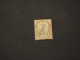 MONTSERRAT - 1905/8 SIMBOLO 2 P. - NUOVO(+) - Montserrat