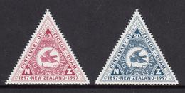 New Zealand MNH Michel Nr 1604/05 From 1997 / Catw 2.00 EUR - Nieuw-Zeeland