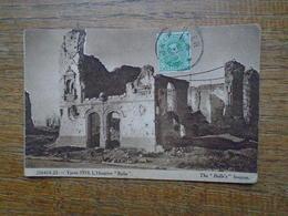 """Ypres 1919 , L'hospice """" Belle """" """""""" Beaux Affranchissement Avec Taxe Timbre Français """""""" - Ieper"""