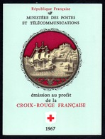 France Frankreich Carnet Croix-Rouge Rotkreuzheftchen Y&T Carnet CR 2016 - Markenheftchen