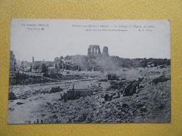 MINAUCOURT LE MESNIL LÈS HURLUS. Les Ruines De La Guerre De 1914. - France