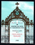 France Frankreich Carnet Croix-Rouge Rotkreuzheftchen Y&T Carnet CR 2017 - Markenheftchen