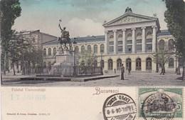 Romania, Bucuresti, Bucuresci, Palatul Universitatii (pk53832) - Romania