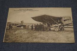 Ancienne Carte Postale ,Aviation,avion Farman,1928 Aérodrome De Bruxelles,pour Collection - 1919-1938: Entre Guerres