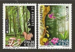ITALIA 2011 - ITALY - ITALIE - ITALIEN - EUROPA CEPT - BOSQUES - FORESTS - 2011