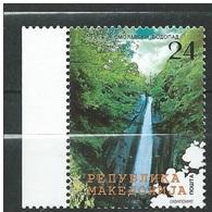 Macedonia 2005 Natural Beauties  The Smolar's Waterfall.MNH - Macedonia