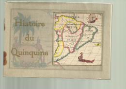 """"""""""" HISTOIRE  DU  QUINQUINA  """""""" - Reproduciton En Couleurs De 12 Fresques    .-Paris 1931-""""""""DUBONNET"""""""" - Alcools"""