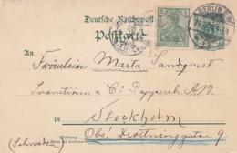 Deutsches Reich Postkarte 1900 - Germany