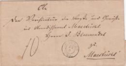 Deutschland Brief 1844 Duitsland Over Maastricht - Deutschland