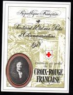 France Frankreich Carnet Croix-Rouge Rotkreuzheftchen Y&T Carnet CR 2027 - Booklets