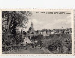 23 - VIELSALM - Nouvelle église Et Panorama, Vus De La Route De Goronne - Vielsalm