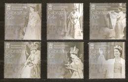 Gibraltar 2017 Micheln°  1774-1779 *** MNH 65th Anniversary Accession Queen Elizabeth II - Gibraltar