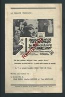 NAMUR. Eden Cinéma.Le Milliardaire Marilyn/ Montand.  L'odyssée Du Soumarin Clark Gable/Burt Lancaster. 3 Scans - Affiches