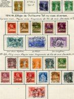 10643  SUISSE  Collection Vendue Par Page °/*  1910-22  TB - Suisse