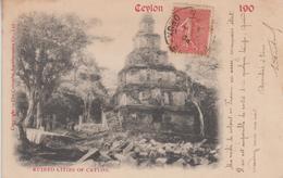 CPA Précurseur Ceylon - Ruined Cities Of Ceylon - Sri Lanka (Ceylon)