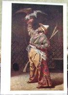 By Vereshchagin. A Rich Kyrgyz Hunter With A Falcon USSR Postcard - Russia