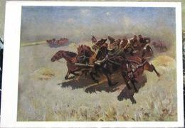 M. Grekov. Civil War In Russia 1917-1923. Tachanka, Red Army USSR Postcard - Russia