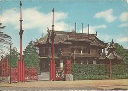 BRUXELLES- LAEKEN.  Pavillon Chinois.   (scan Verso) - Laeken