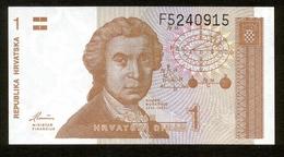 Republika Hrvatska - Kroatien 1991, 1 Dinar, F5240915, UNC - Kroatien