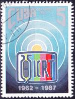 Kuba Cuba - 25 Jahre ICRT (Mi.Nr.: 3100) 1987 - Gest Used Obl - Cuba