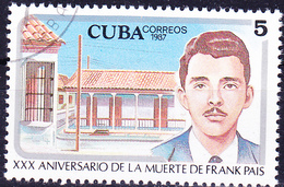 Kuba Cuba - 30. Todestag Von Frank País (Mi.Nr.: 3115) 1987 - Gest Used Obl - Cuba