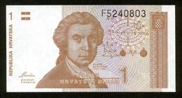 Republika Hrvatska - Kroatien 1991, 1 Dinar, F5240803, UNC - Kroatien