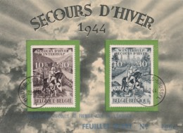 Belgie COB** 639-640 - Cartes Souvenir